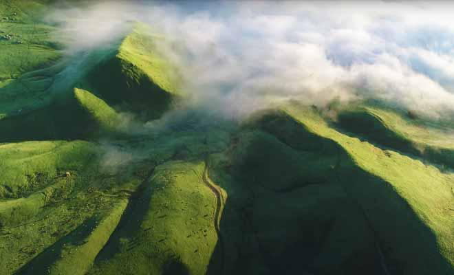 Survol des collines de Te Mata