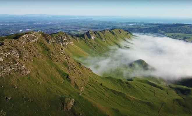 Survol de Te Mata Peak