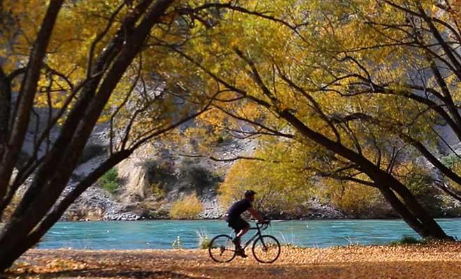 Les belles couleurs de l'Otago en automne