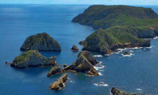 Ce reportage vous présente le plus beau site de plongée du pays aux Poor Knight Islands.