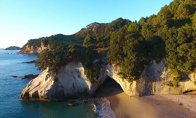 Cathedral Cove, Péninsule de Coromandel