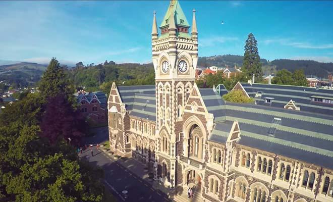 Dunedin, gare central