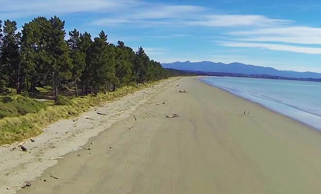 Nelson, plages