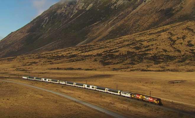 Traversée des alpes néo-zélandaises en train