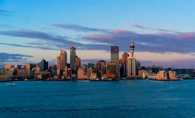 Timelapse d'Auckland et sa région