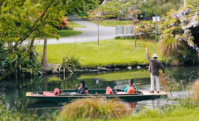 Visite de Christchurch