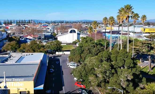 Vue aérienne de Napier