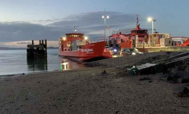 Dernier ferry de la journée
